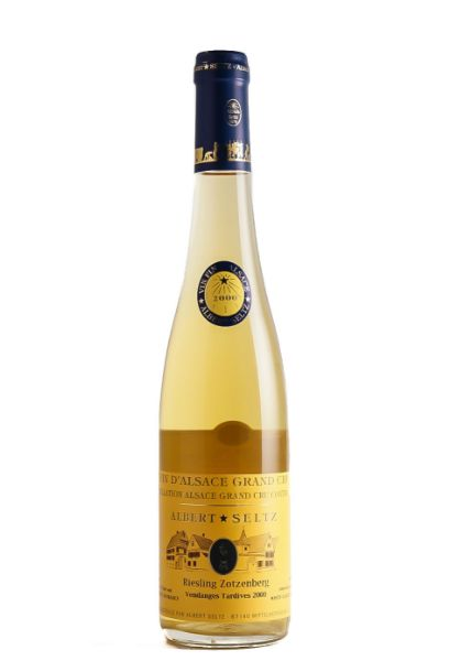 Picture of 2000 Domaine Albert Seltz Riesling 'Zoltenberg' Venganges Tardives, 500ml