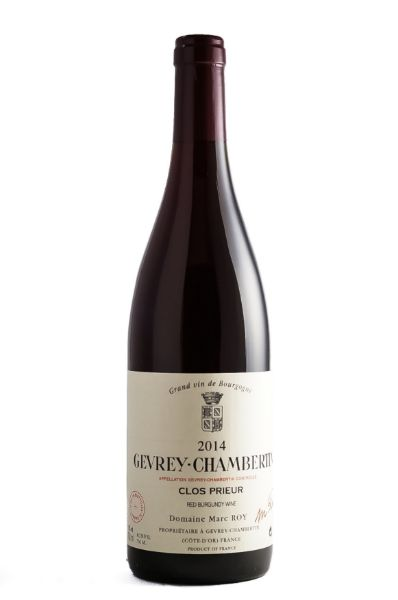 """Picture of 2014 Domaine Marc Roy: Gevrey-Chambertin """"Clos Prieur"""""""