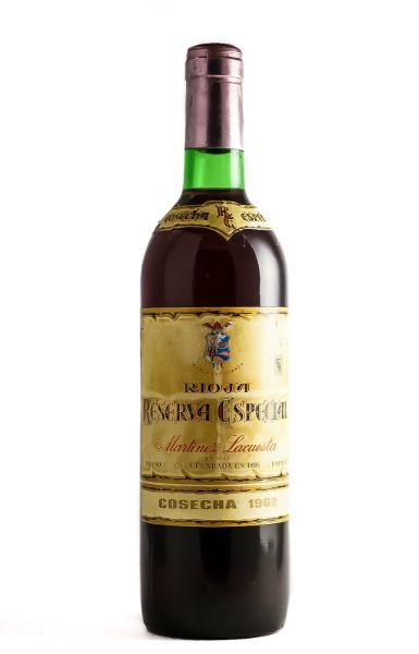 Picture of 1962 Martinez Lacuesta Rioja Reserva Especial