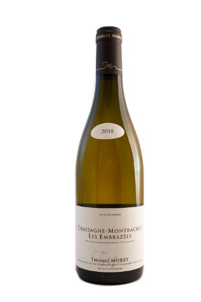 Picture of 2018 Domaine Thomas Morey Chassagne-Montrachet 1er Cru 'Les Embrazees'