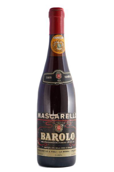 Picture of 1971 Michele Mascarello Barolo Torriglione Riserva