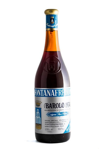 Picture of 1974 Fontanafredda Barolo Vigna San Pietro