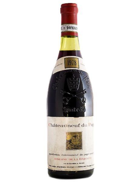 Picture of 1978 De La Roquete Chateauneuf du Pape