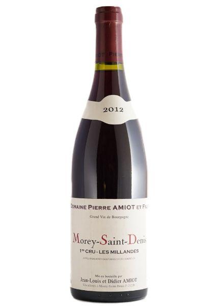 Picture of 2012 Domaine Pierre Amiot Morey St.Denis 'Les Millandes' 1er Cru